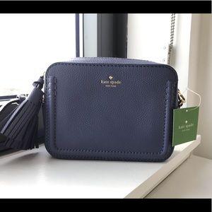 Kate Spade Arla crossbody handbag in Oyster Blue